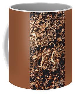 Prehistoric Diplodocus Bones Coffee Mug