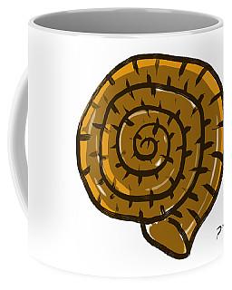 Prehistoric Shell Coffee Mug