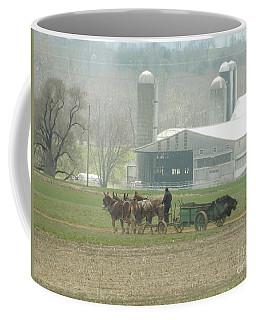 Preparing The Field-two Coffee Mug