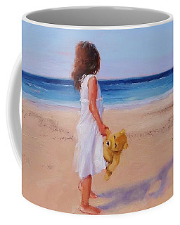 Coffee Mug featuring the painting Precious Moment by Laura Lee Zanghetti
