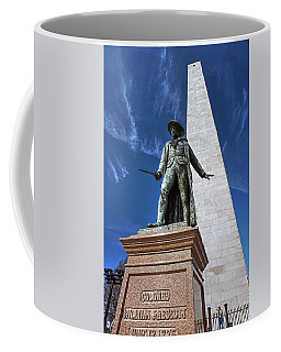 Prescott Statue On Bunker Hill Coffee Mug