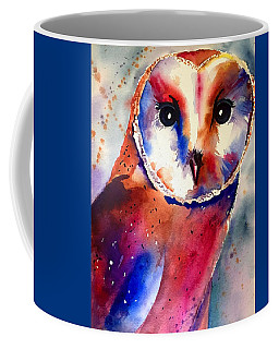 Coffee Mug featuring the painting Present Moment  by Michal Madison