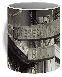 Preservation Hall, French Quarter, New Orleans, Louisiana Coffee Mug