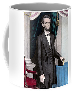 President Abraham Lincoln In Color Coffee Mug