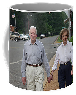 President And Mrs. Jimmy Carter Coffee Mug