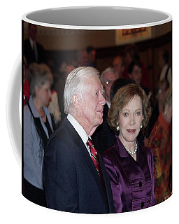President And Mrs. Jimmy Carter Nobel Celebration Coffee Mug