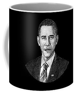 President Barack Obama Graphic Coffee Mug
