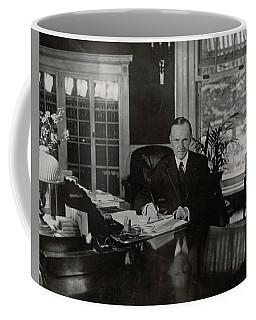 President Calvin Coolidge Coffee Mug