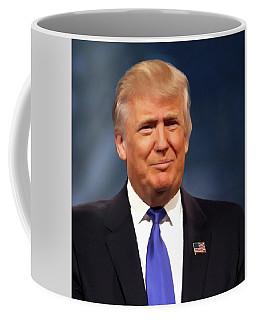 President Donald John Trump Portrait Coffee Mug