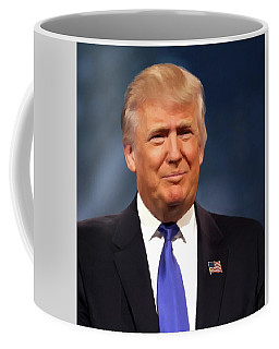 President Donald John Trump Portrait Coffee Mug