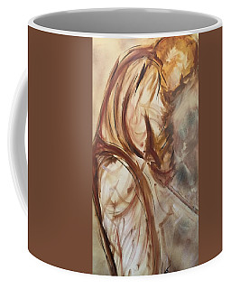 he knows Our Course Coffee Mug
