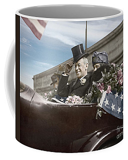 President Woodrow Wilson 1919 Color Coffee Mug