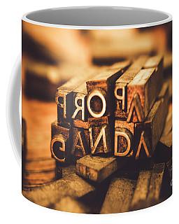 Press Of Propaganda Coffee Mug