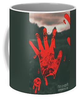 Pressing Terror Coffee Mug