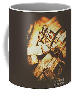 Pressing The Hegelian Dialectic   Coffee Mug