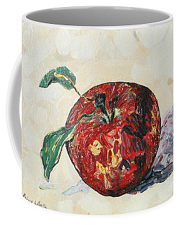 Pretty Apple Coffee Mug by Reina Resto