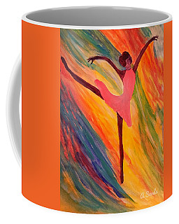 Pretty Ballerina Coffee Mug