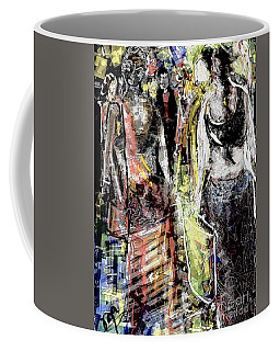 Pretty Girl At The Mall Coffee Mug