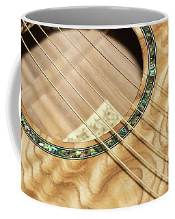 Pretty Guitar - Coffee Mug
