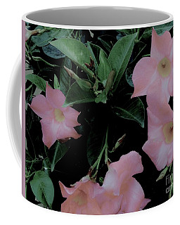 Pretty In Pink Flowers Coffee Mug