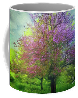 Coffee Mug featuring the photograph Pretty In Pink by Leigh Kemp