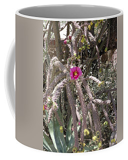 Flower Is Pretty In Pink Cactus Coffee Mug
