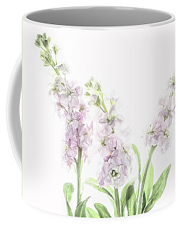 Coffee Mug featuring the photograph Pretty In Pink by Rebecca Cozart