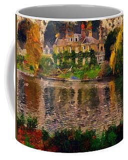 Pretty On The River Coffee Mug
