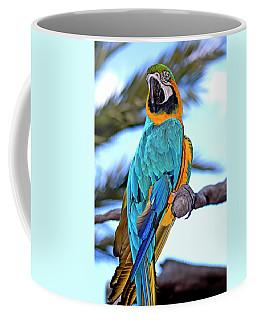 Pretty Parrot Coffee Mug