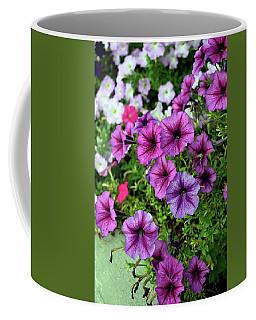 Pretty Petunias Coffee Mug