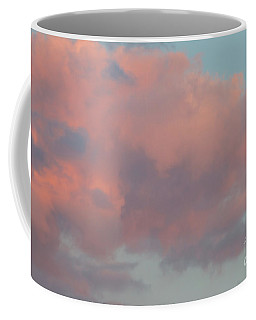 Coffee Mug featuring the photograph Pretty Pink Clouds by Ana V Ramirez