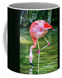 Pretty Pink Flamingo Coffee Mug