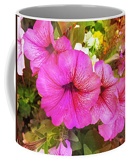 Pretty Pink Petunias Coffee Mug