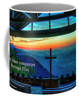 Pretty Place Chapel Through Him Art Coffee Mug