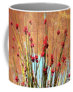 Pretty Pond Weeds Coffee Mug by Ellen O'Reilly