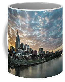 Pretty Sky And Nashville Skyline Coffee Mug