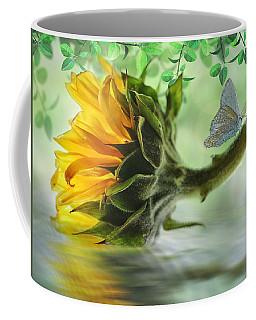 Pretty Sunflower Coffee Mug