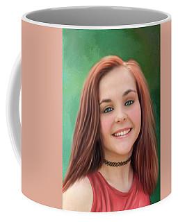 Pretty Young Lady Coffee Mug