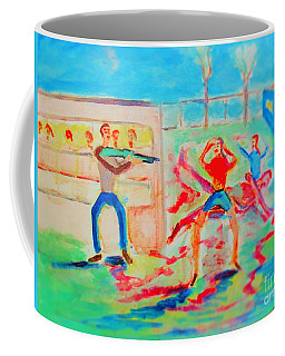 Prevention Of Shootings Memorial Coffee Mug
