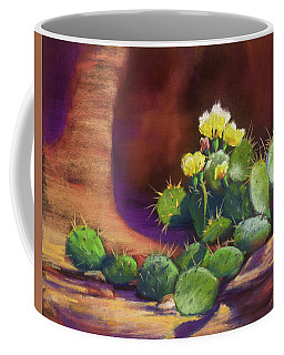 Pricklies On A Ledge Coffee Mug
