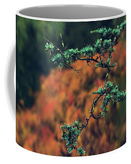 Coffee Mug featuring the photograph Prickly Green by Gene Garnace