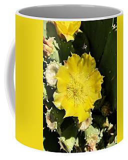 Prickly Pear And The Bee Coffee Mug