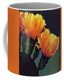 Prickly Pear Blooming Coffee Mug
