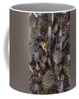 Prickly Pear Cactus At Tonto National Monument Coffee Mug