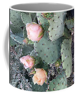 Prickly Pear Coffee Mug by Erika Chamberlin