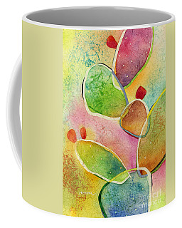 Coffee Mug featuring the painting Prickly Pizazz 1 by Hailey E Herrera