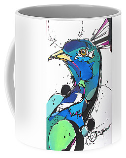 Coffee Mug featuring the painting Pride by Nicole Gaitan