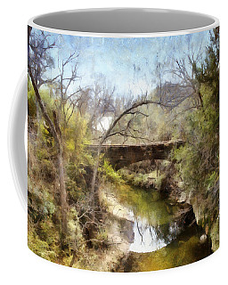 Bridge At The Zoo Coffee Mug by Ricky Dean