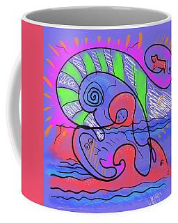 Primitive Love Coffee Mug by Jason Nicholas