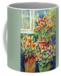 Primroses And Pansies II Coffee Mug